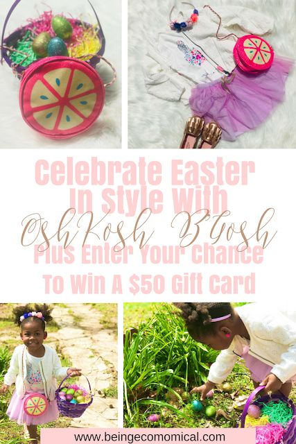 Celebrate Easter In Style With OshKosh B'Gosh Plus Enter Your Chance To Win A $50 Gift Card - Spring Fashion For Kids
