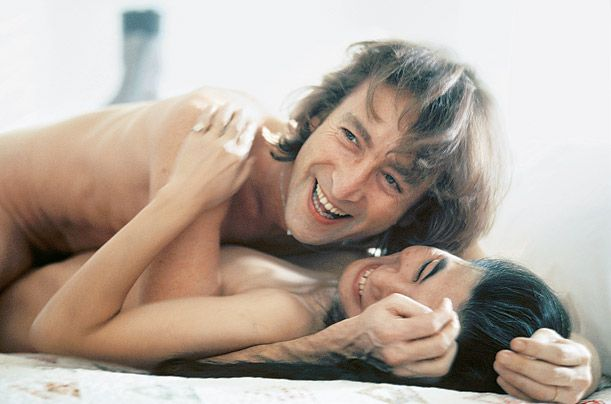 John Lennon and Yoko Ono   He went from quartet to duo, and, fans aside, never looked back.