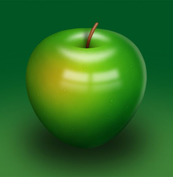 How to Create a Delicious Green Apple Illustration In Photoshop