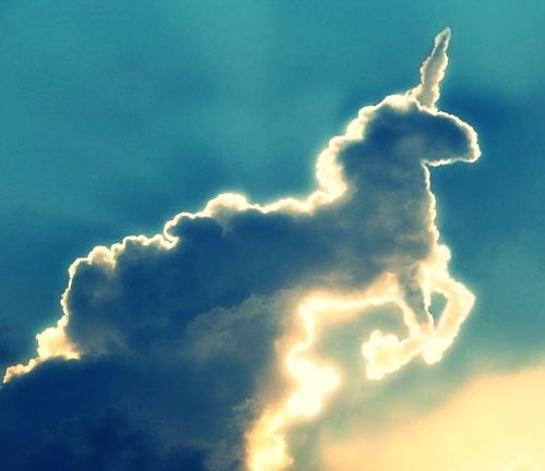 Und es zog eine Wolke vorbei. Keine gewöhnliche Wolke, denn sie hatte die Form eines Einhorns. Die meisten Menschen hätten das wahrscheinlich für einen lustigen Zufall gehalten, Stella tat das nicht. Aber Stella war auch kein gewöhnliches Mädchen. Stella war ein Wolkenkind, und sie wurde von  der Wolke in höchste Alarmbereitschaft versetzt... ~ Lili Gerstel