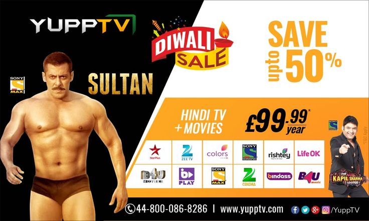 Save up to 50% by subscribing for Hindi TV channels