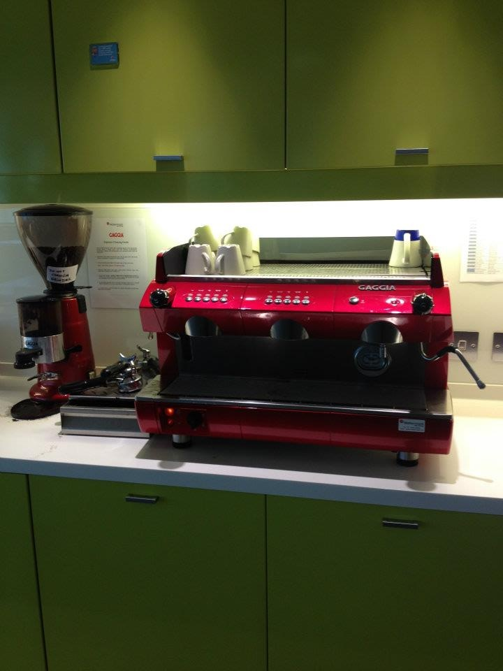 #Dublinoffice - Would you like to have a professional coffee machine at home?