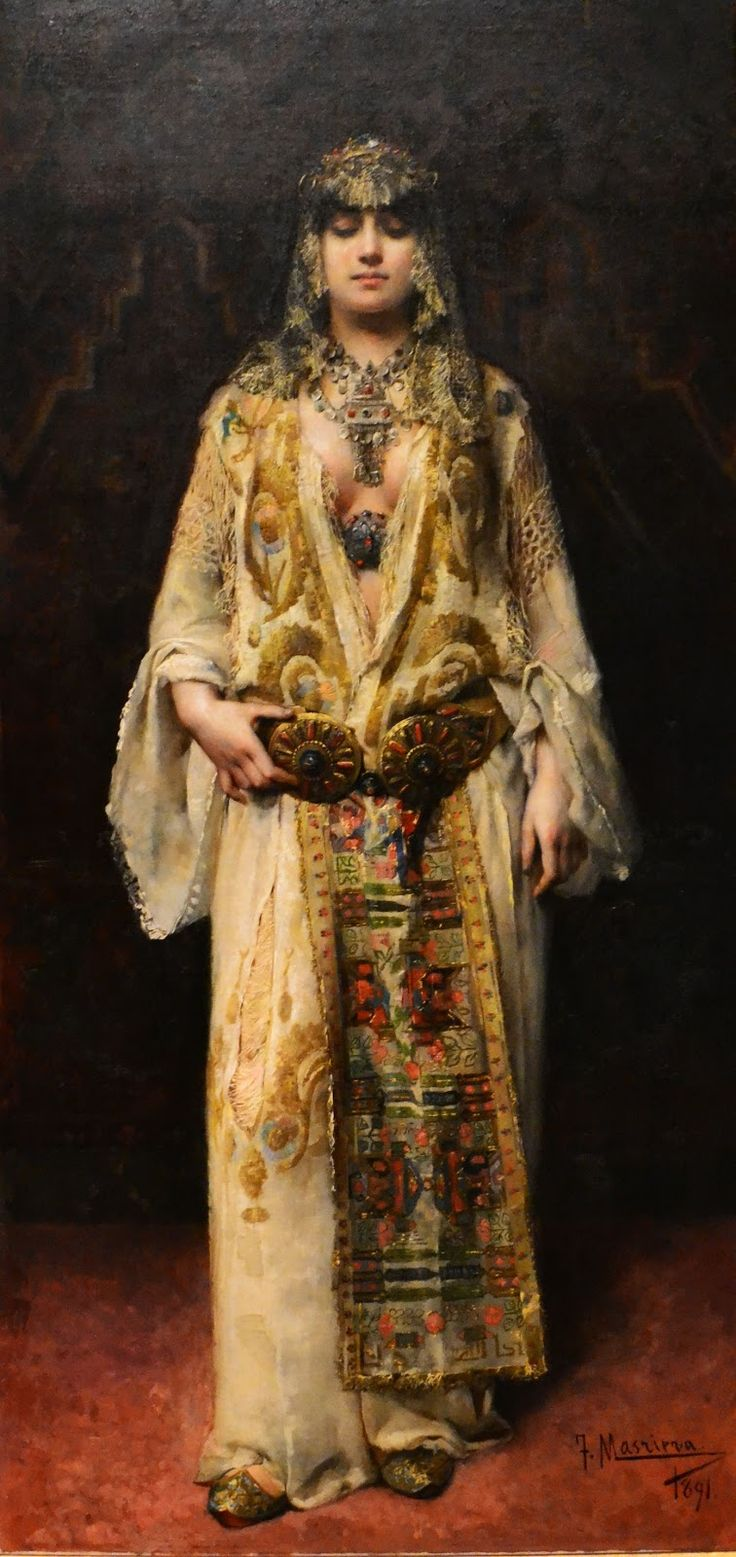 In love with the costume AND her attitude! Francesc(Francisco) Masriera (1842-1902) #women