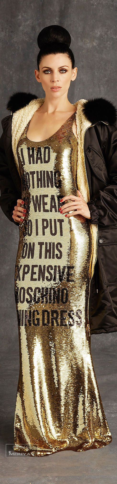 Moschino.Pre-Fall 2015 - #LadyLuxuryDesigns