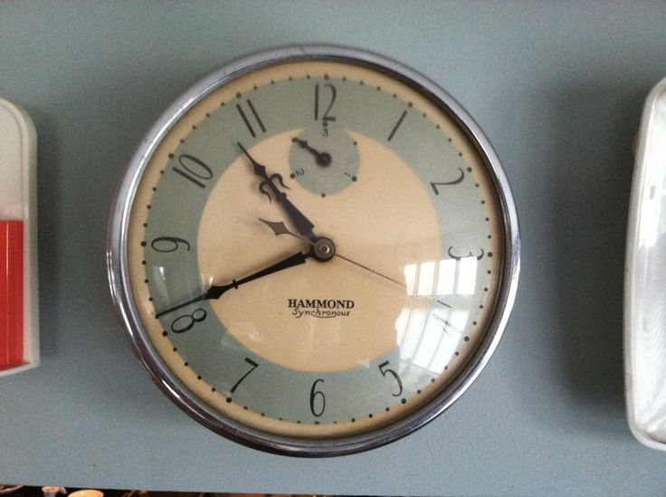 Lovely Hammond Vintage Kitchen Clock