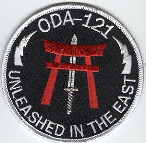 1st Special Forces Group Pocket Patches Operational Detachment A-121 B Company, 1st Battalion Type 2 (2003)