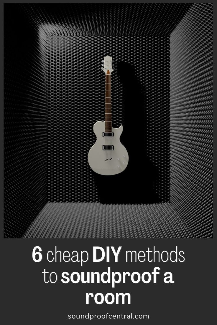 Diy soundproofing a room cheaply an easy how to guide