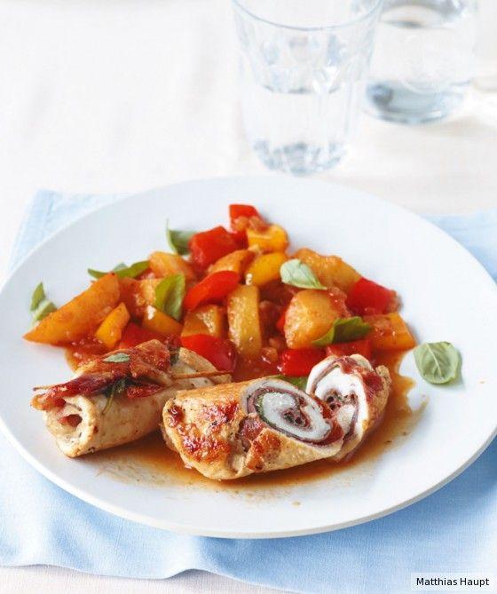 Ein richtiges Festessen und wunderschön anzuschauen. Und mit nur 448 kcal pro Portion besonders kalorienarm.