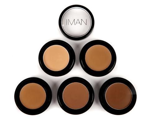 Review: Best Concealers for Dark Skin Tones: Iman Cosmetics Cover Creams
