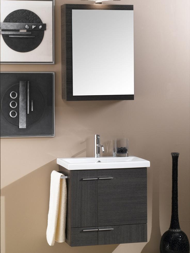 Simple Wall Mounted Bathroom Vanity Set by Nameeks