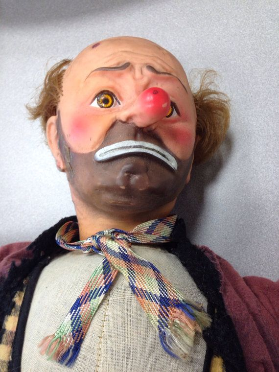 Emmett Kelly Weary Willie Clown 21 Quot Doll 1950 S Baby Barry