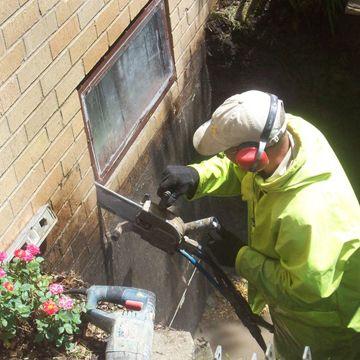 Anchor cutting provide #basement #Window #Cutting_service in #Brampton.  #Window_Cutting_Brampton #BasementWindowCuttingBrampton