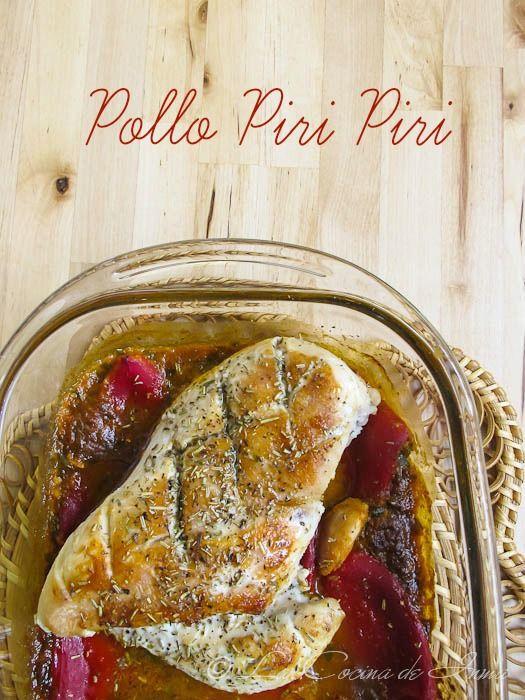 Pollo Piri Piri en la versión de Jamie Oliver