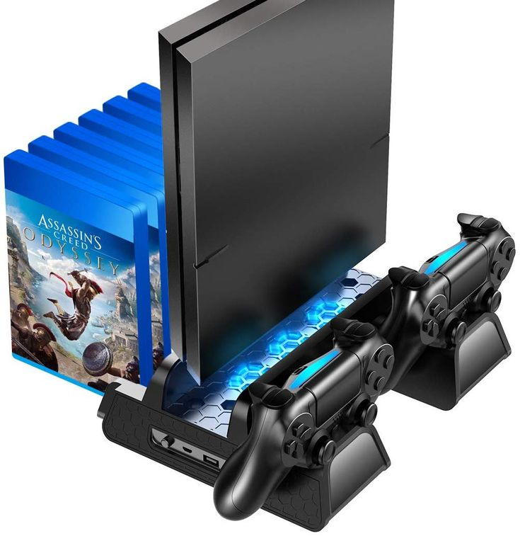 Oivo ps4 ps4 slimps4 pro vertical cooling stand with