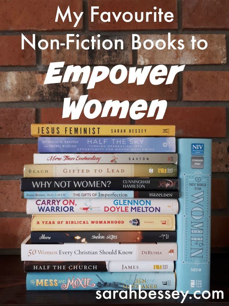 My Favourite Non-Fiction Books to Empower Everyday Women | Sarah Bessey