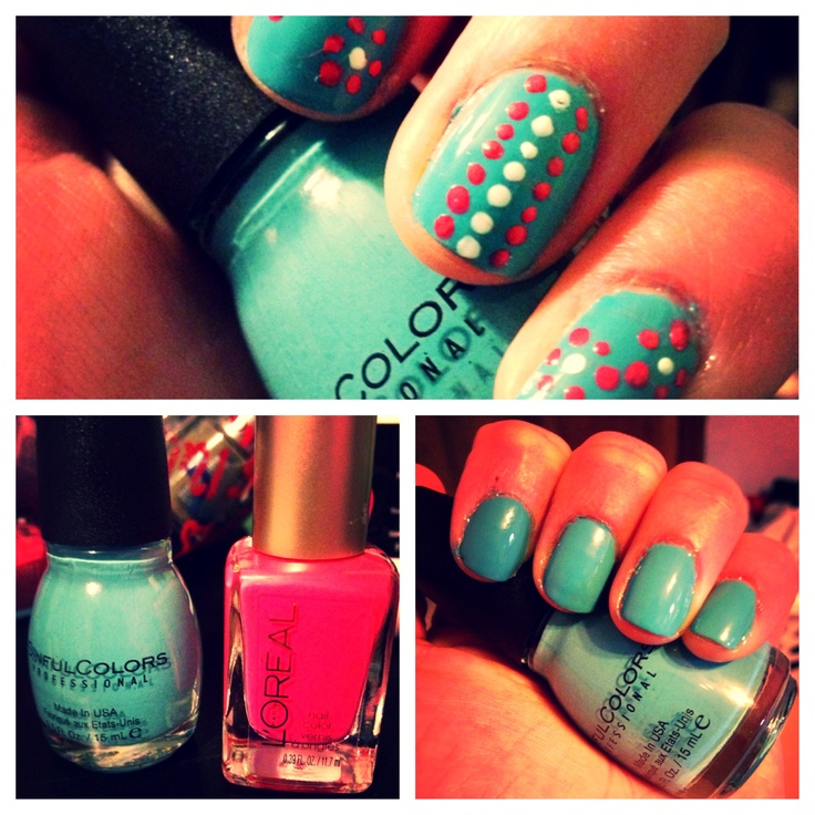 1000+ Images About Blue/Green Nail Art On Pinterest