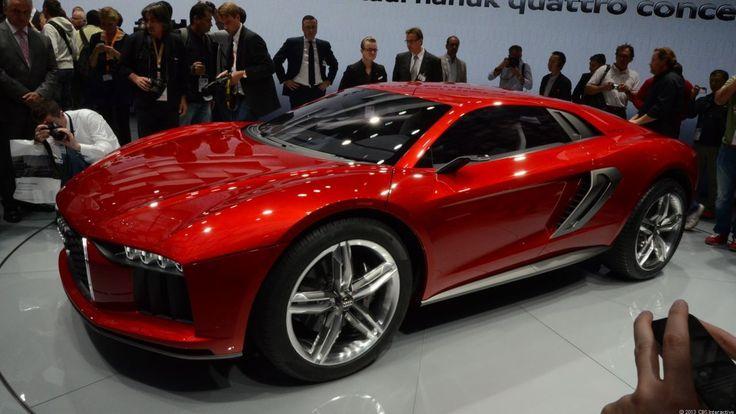 Audi Nanuk Quattro concept is a supercar softroader via @CNET
