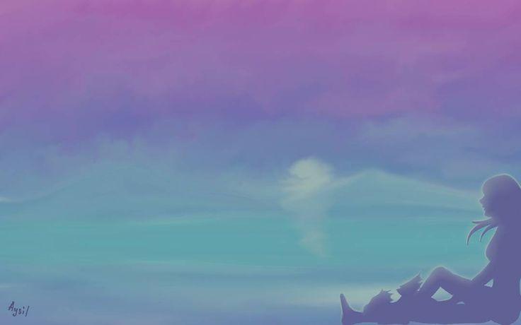 Девочка с ручным драконом) Всем спокойной ночи) #дракон #пейзаж #девушка #рисунок #рисуюкаждыйдень #ярисую #инстаарт #художник #иллюстратор #иллюстрация #детскаяиллюстрация #арт #арттерапия #dragon #girl #art #arts_help #worldofartists #dailysketch #drawing #paint by aysildragon