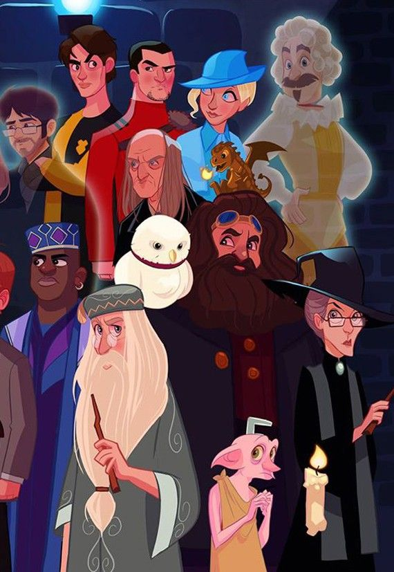 Si Harry Potter avait droit à sa série animée 06
