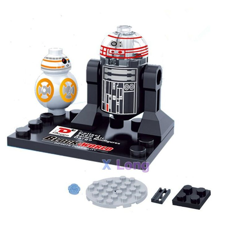 New Star Wars minifigure Single sale Kylo Ren BB-8 R5-D4 Classic figures Collection Children Gift toys