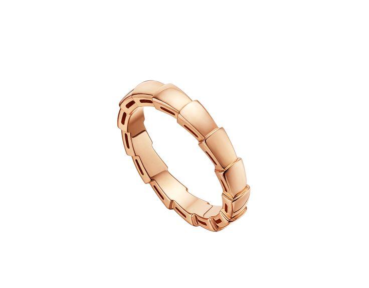 Serpenti Ehering 18 Karat Roségold AN856868 - Entdecken Sie die Bulgari Kollektionen und erfahren Sie mehr über den ausgezeichneten italienischen Juwelier auf der offiziellen Website.