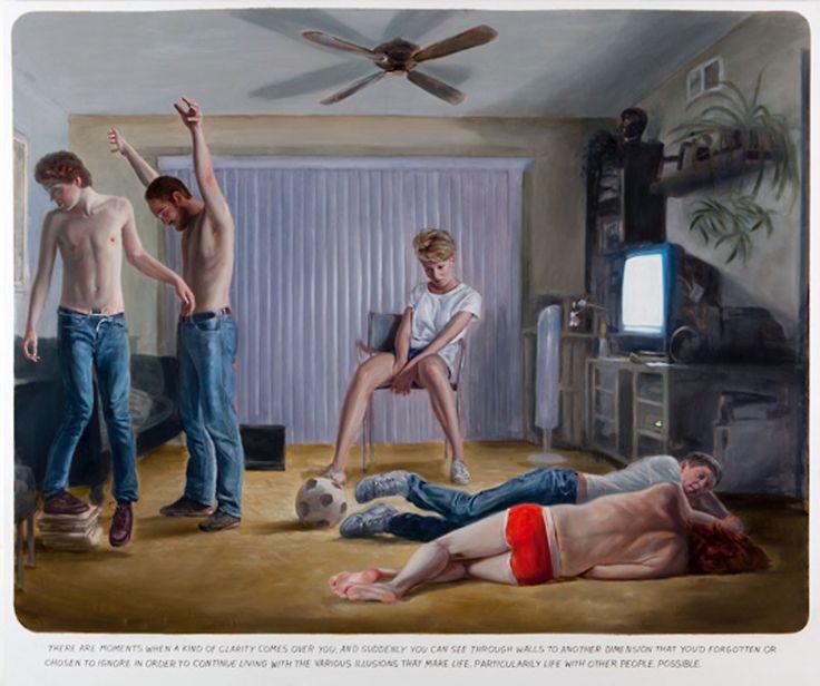 Muntean / Rosenblum Paint Dramatic Scenes of Contemporary Life