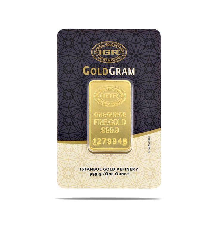 31,10 gr 1 ONCE 999.9 IGR Gram Altın / GRAMALTIN