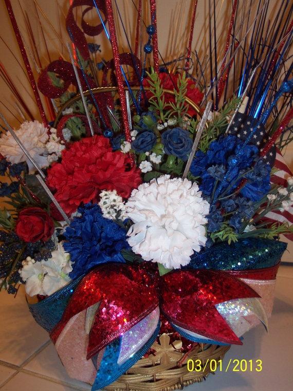 12 best Patriotic floral arrangements images on