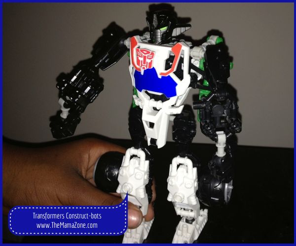 The MamaZone: Transformers Construct-bots Review #ConstructBots