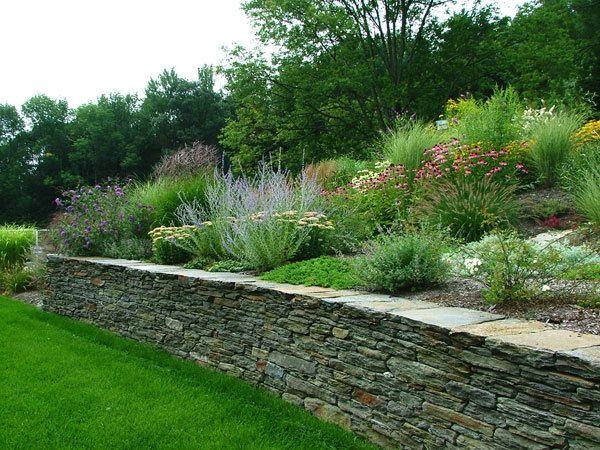17 best images about deck railing ideas on pinterest for Garden design hillside