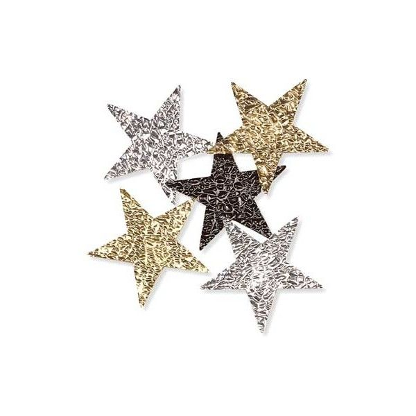 Anderson's Prom - Cracked Ice Stars# ($12) ❤ liked on Polyvore featuring fillers, backgrounds, stars, random, decorations, embellishments and details