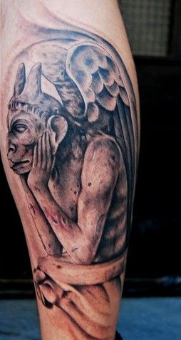 gargoyle tattoo designs more tattoo images under gargoyle tattoos cool tattoos continues. Black Bedroom Furniture Sets. Home Design Ideas