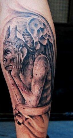 Gargoyle Tattoo Designs | More Tattoo Images Under: Gargoyle Tattoos