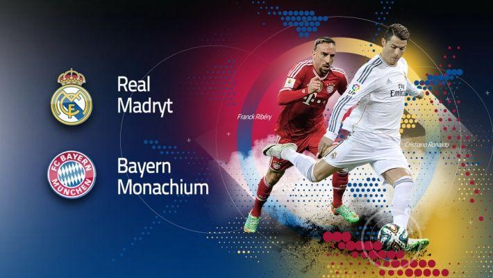 LM (1/2): Real Madryt vs Bayern Monachium