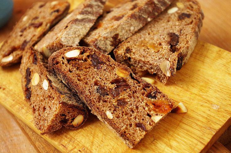 Dessert whole grain sourdough (Десертный цельнозерновой хлеб на закваске)