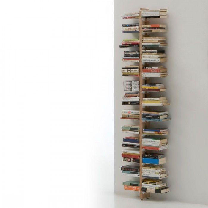 Libreria a parete h 195 cm Zia Bice