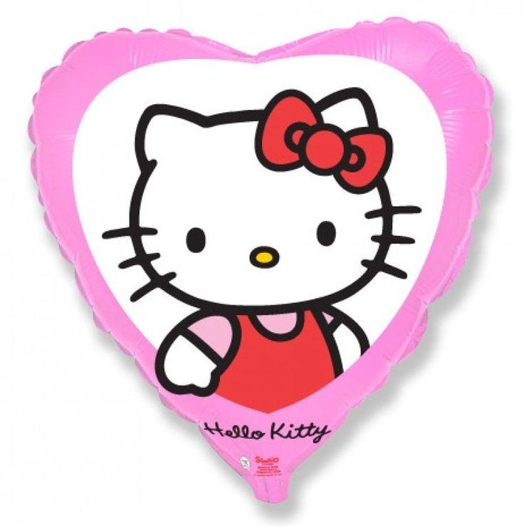 шарики на день рождения. hello-kitty