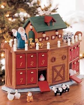 Noah's Ark Advent Calendar!