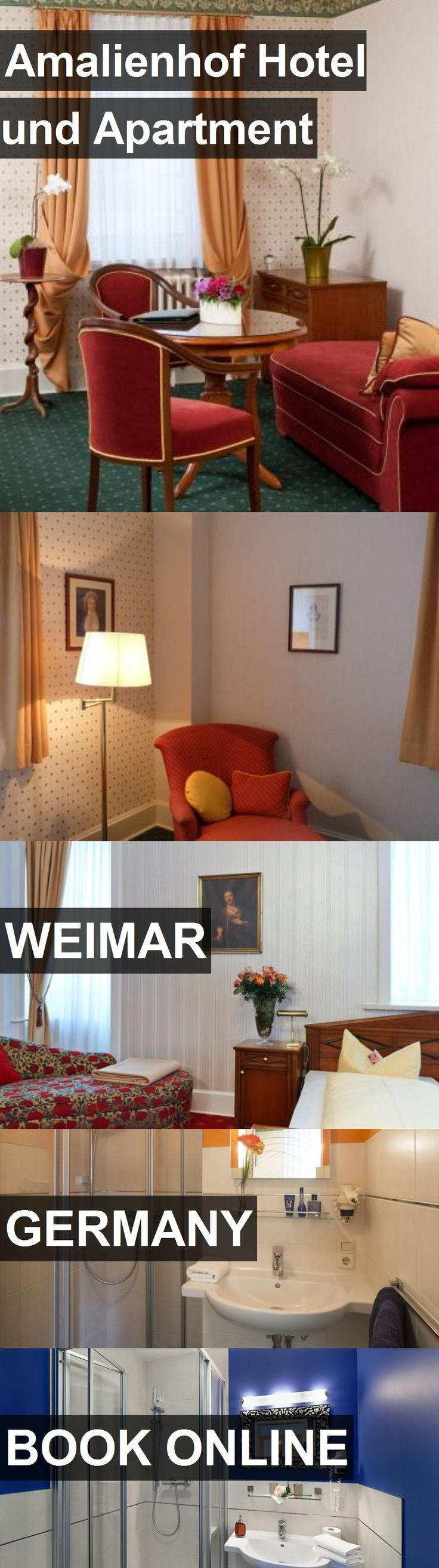 Amalienhof Hotel und Apartment in Weimar, Germany. For more information, photos, reviews and best prices please follow the link. #Germany #Weimar #travel #vacation #hotel #apartment