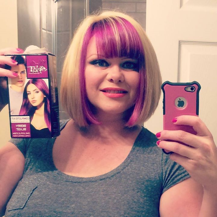 Splat Hair Color Berry Blast Pink Pinterest And Dye