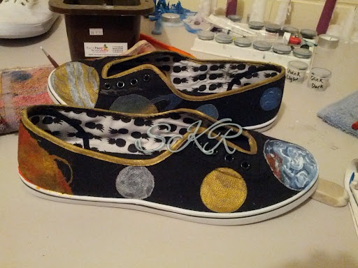 Space Shoes!