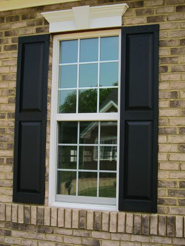 Images Exterior Houses With Shutters We Also Chose A