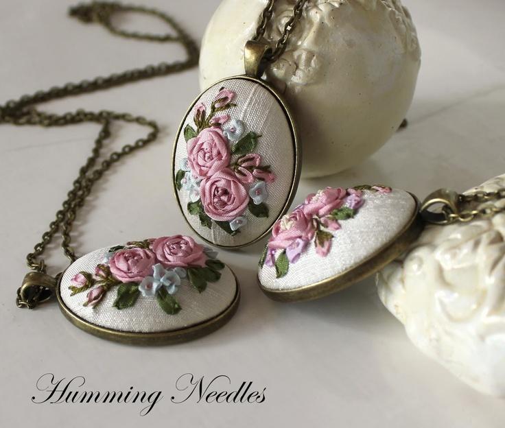 Beautiful ribbon pendent ideas