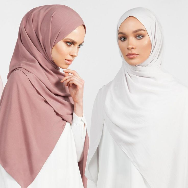 INAYAH | Hijabs in your favourite shades for around the year styling: Matt Truffle Soft Touch Rayon Hijab Washed Grey Light Rayon Hijab www.inayah.co