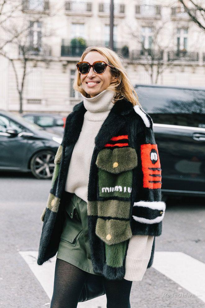 7ce0908b6cc Уличная мода  Неделя моды в Париже сезона осень-зима 2018-2019  финальный  стритстайл