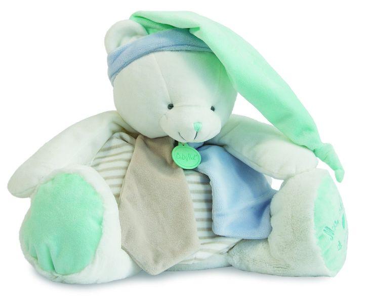 """#Peluche range-pyjama #ours de la collection """" Les Tendres """" de Baby Nat' est pratique, doux,.. #rangepyjama #babynat #babynat #lesflocons #pratique #doux #utile #"""