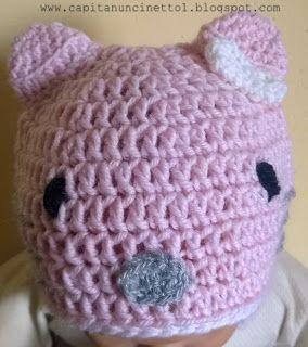 Capitan Uncinetto: Cappello Hello Kitty