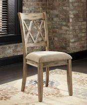 Удобный стул в цвете античный белый Mestler, Ashley