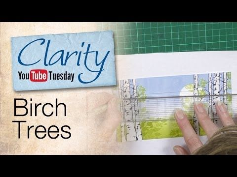 Clarity Stencil and Gelli Plate How To - A Secret Garden - YouTube