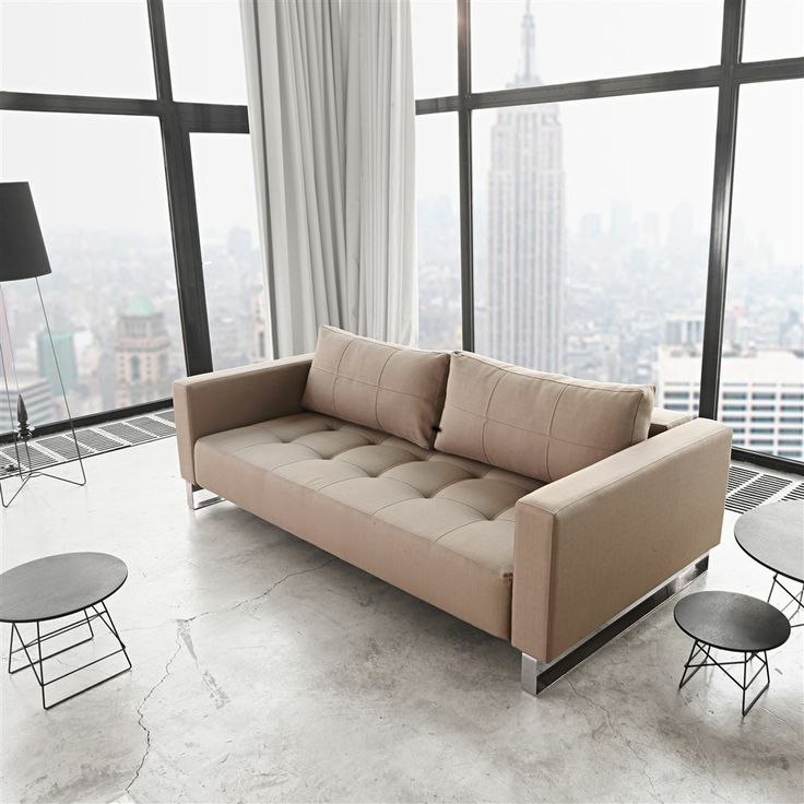 highly comfortable, convertible lounge sofa in a relaxed elegant ...